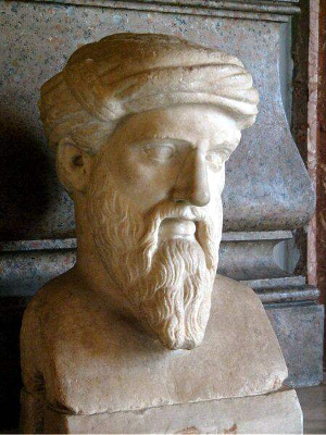 Pythagoras - Pascal's Wager - chance - probability - infinity