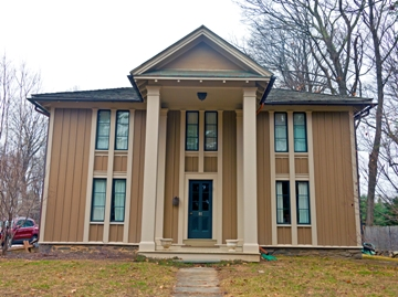 1849 Victorian cottage designed by Alexander Jackson Davis (Daniel Case) - René Descartes - beliefs, minimizing assumptions