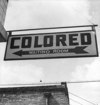 1943 'Colored Waiting Room' Sign - The Immortal Life of Henrietta Lacks - Rebecca Skloot - racism, biography, medical science, segregation