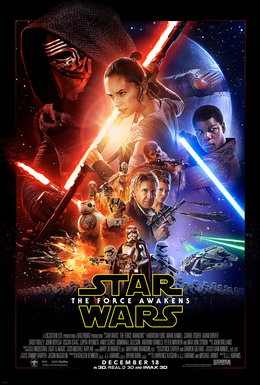 Star Wars Episode VII: The Force Awakens movie poster - J.J. Abrams - pacing criticism