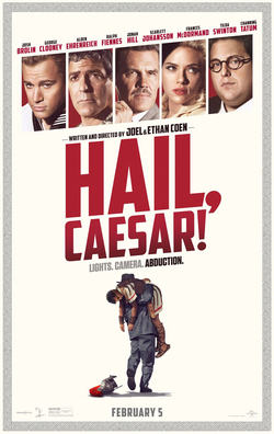 Hail, Caesar! movie poster - Coen Brothers - marketing, trailers, themes