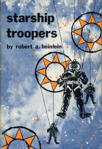Starship Troopers book cover - Paul Verhoeven - Robert A. Heinlein - movie vs. book