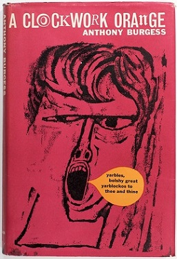 A Clockwork Orange book cover - Anthony Burgess - bad last chapter 21