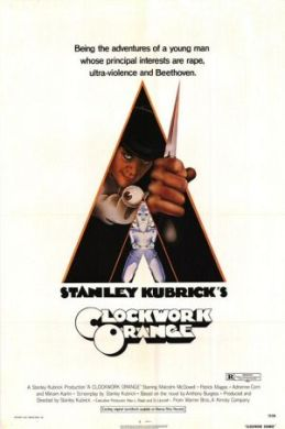 A Clockwork Orange movie poster - Anthony Burgess - bad last chapter 21