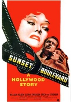 Sunset Boulevard movie poster - Billy Wilder - narrator
