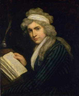 Portrait of Mary Wollstonecraft by John Opie - philosophy of education - internet - The Gemsbok