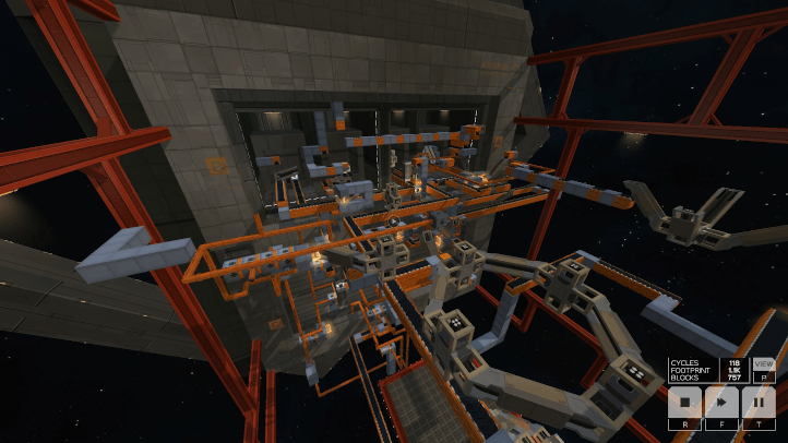 Infinifactory screenshot with final level - Zachtronics - games as art, definition of art