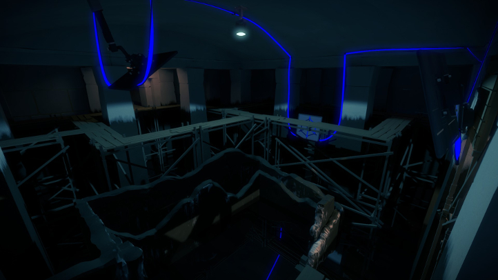 The Witness screenshot with subterranean waterway - Jonathan Blow, Thekla - analysis, deconstruction, meditation