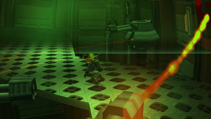 Jak II screenshot with early-game tank mission - Naughty Dog, retrospective analysis, analogy, comparison