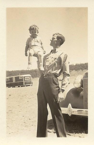 Frank & Frank Duval, 16 July 1937