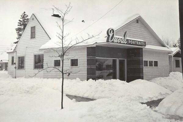 22 January 1954, Duval Portraits, E 15 Walton Avenue, Spokane, Washington