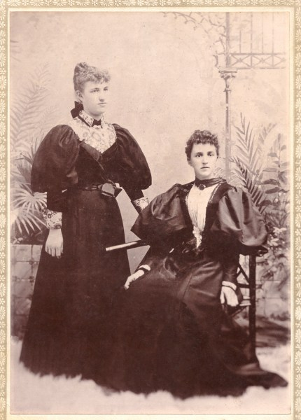 Alice Hyde and her step mother Alice Whiteley Hyde.