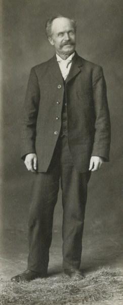 Frederick William Ellis, full length photo