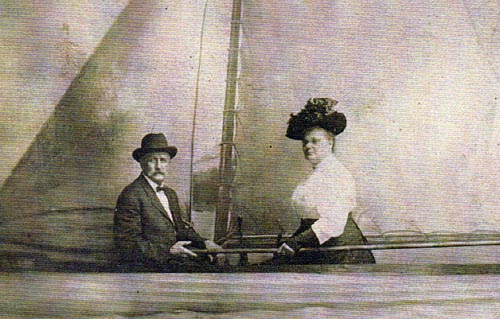 John Baptiste Jerrain and Esther Estelle Jerrain