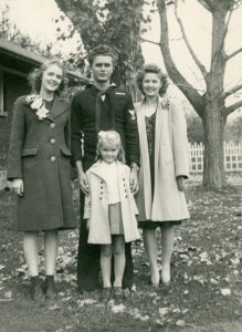 ELLIS, children of Claude & Blanche, WWII