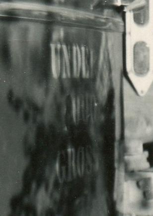 COSTELLO, John, by truck, 1949 - original - door crop