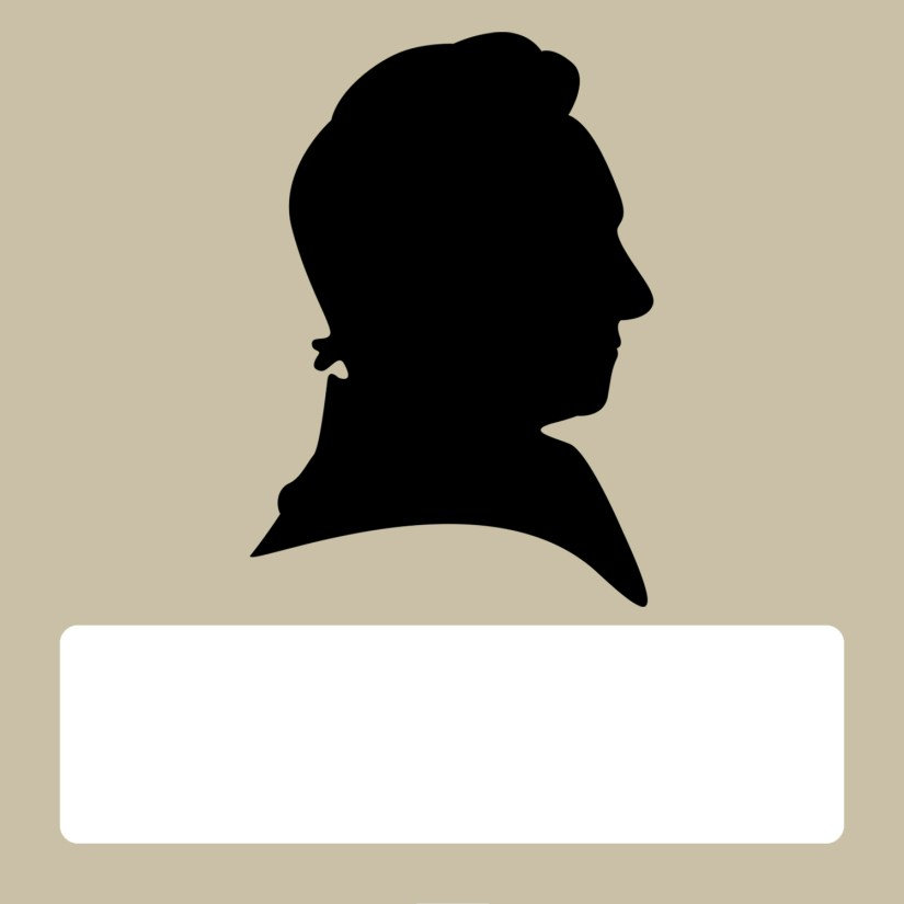 Silhouette blank male tan