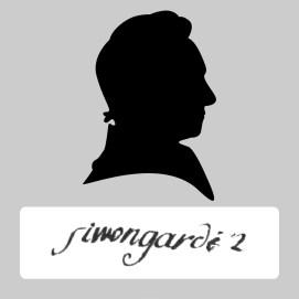Simon Gardey signature silhouette