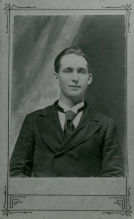 SKEEN, Joseph as a young man