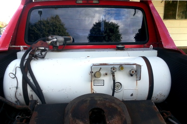 Propane Tank © Paul H. Byerly