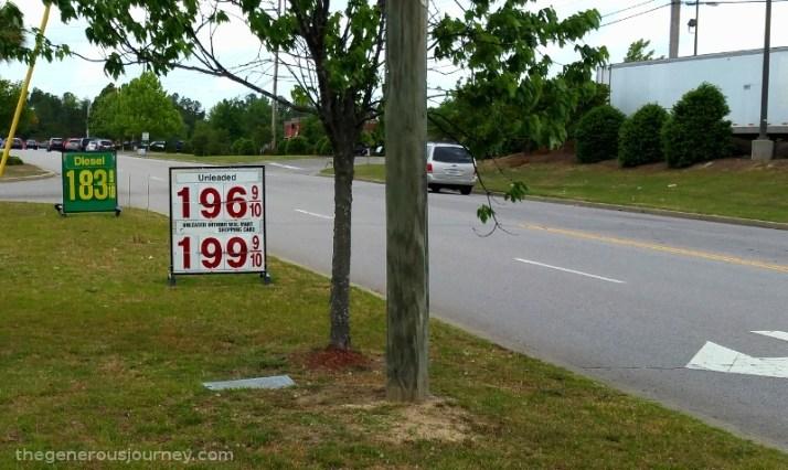 Diesel Price © Paul H. Byerly