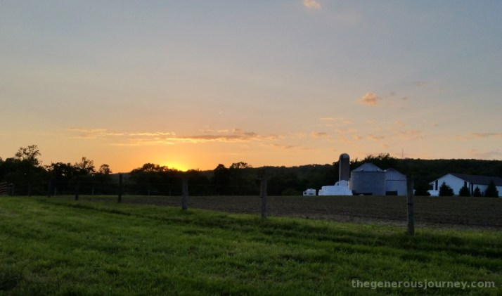 Amish Sunset © Paul H. Byerly