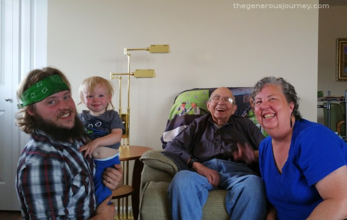 Four generations © Paul H. Byerly