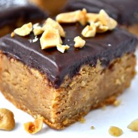 Chocolate Ganache Peanut Butter Bars