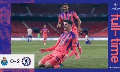 BREAKING: Chelsea Defeat Porto 2-0 - #PORCHE