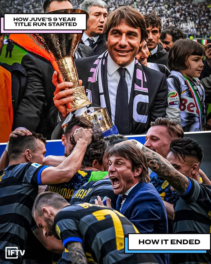 BREAKING: Inter Milan Wins Seria A After 11 Years To End Juventus Dominance