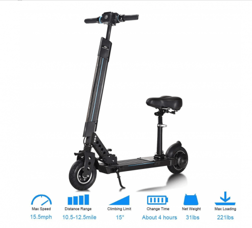 Powered And Sit You Scooters It