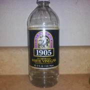 vinegar to wash black bjj gi