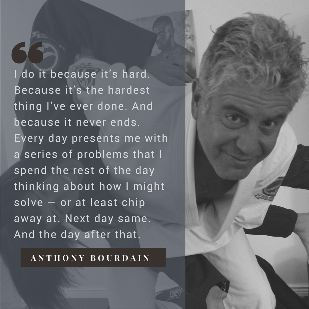Anthony Bourdain on BJJ