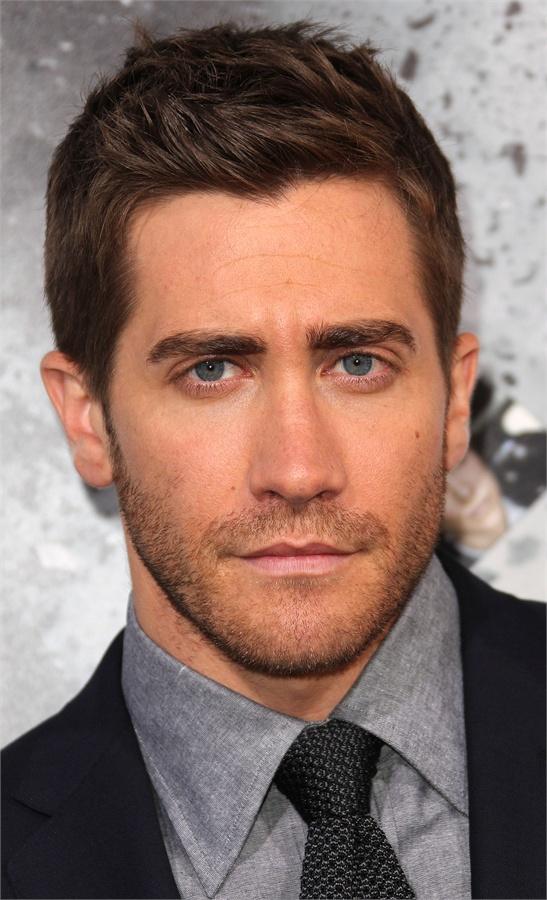 Barba e taglio di capelli volto oblungo - Jake Gyllenhaal