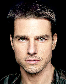 Viso forma diamante - Tom Cruise