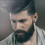 barba da hipster corta