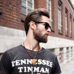 barba hipster corta