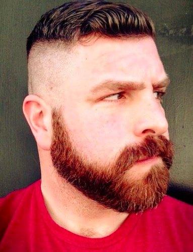 taglio barba hipster corta