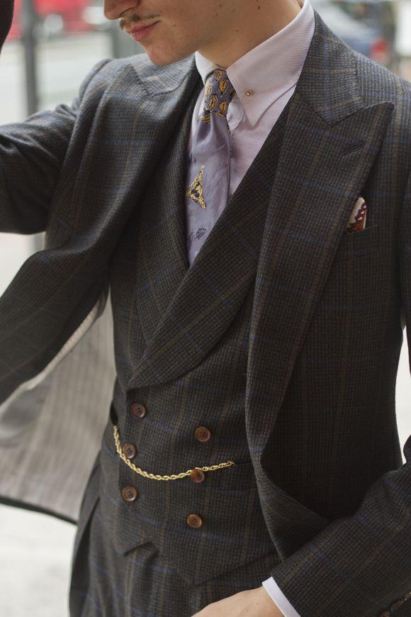 indossare un orologio da taschino uomo