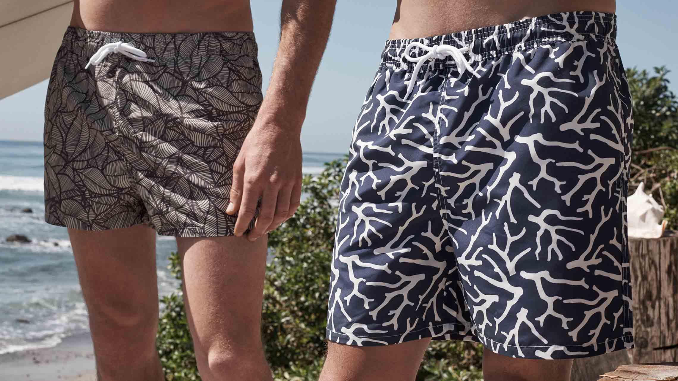 Scegliere il costume da uomo – I trend moda mare 2017