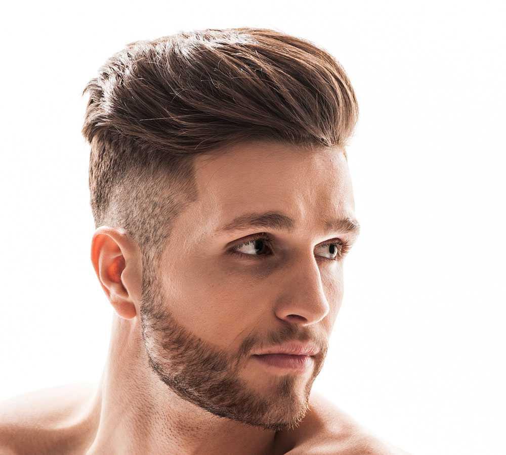 Tagli capelli uomo con frangia