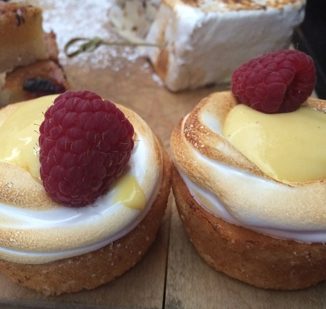 Passionfruit Cupcakes with Toasted Meringue