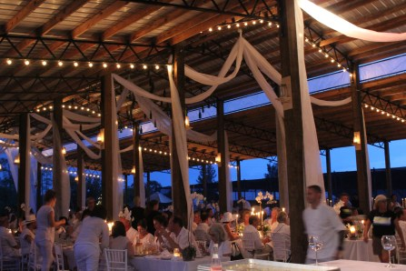 The Cypress Room team journeyed to SWANK Farms in Loxahatchee, FL for Dinner en Blanc.