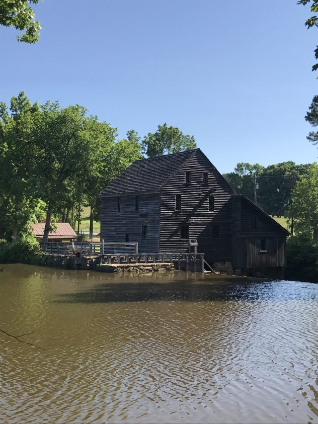 Yates Mill by pond, Raleigh, North Carolina