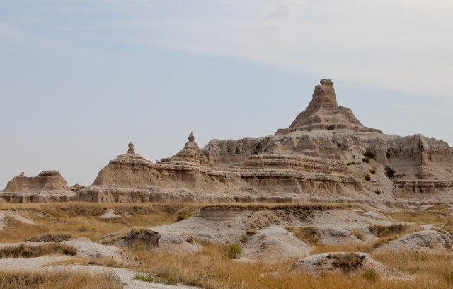 Notch Trail at Badlands South Dakota.  Black Hills Hiking.