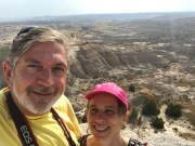 Badlands, South Dakota. Black Hills Hiking.