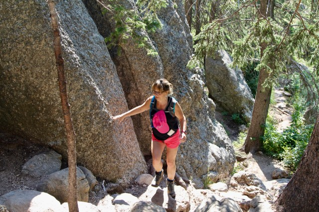 Me hiking in the Black Hills