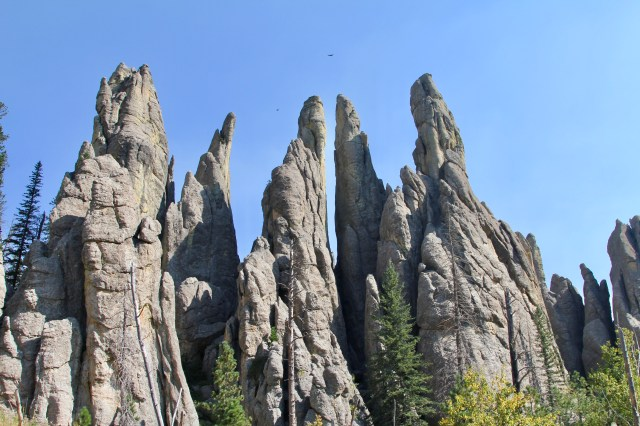 Cathedral Spires Black Hills Hiking Trails.