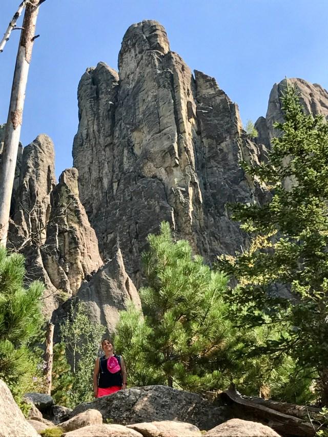 Black Hills hiking trail, Cathedral Spires