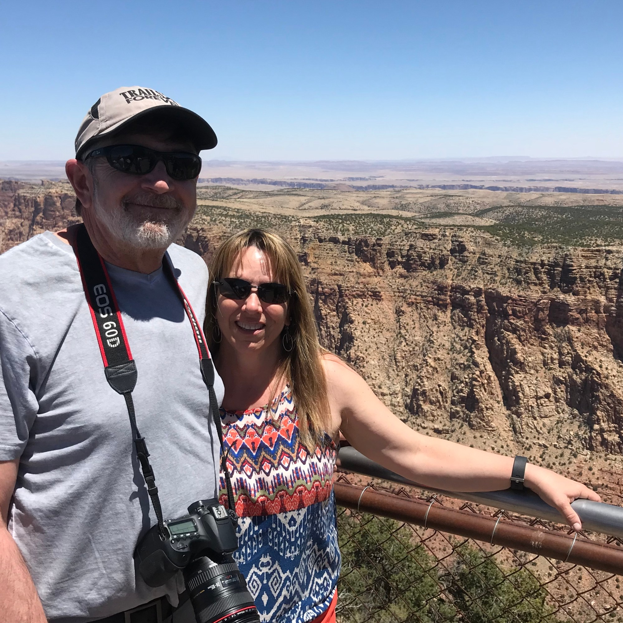 Couple at the Grand Canyon
